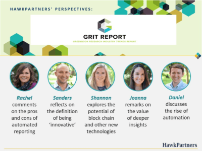 Perspectives on the Greenbook Research Industry Trends (GRIT) Report