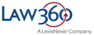This is a logo for Law 360.